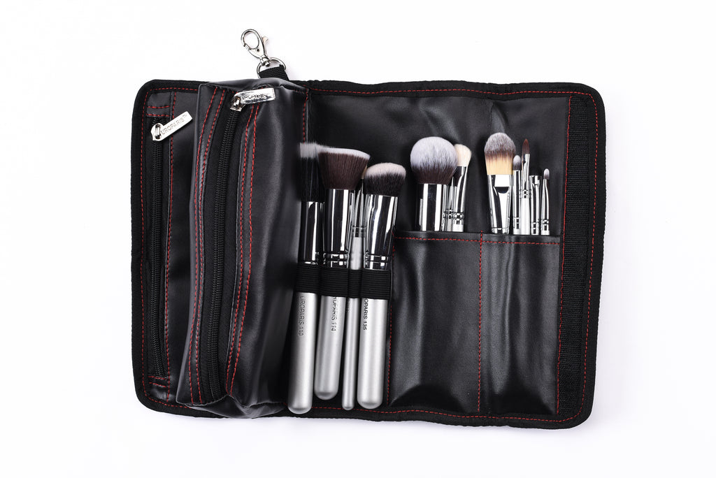 Uroparis Mini Empty Brush Pouch Black