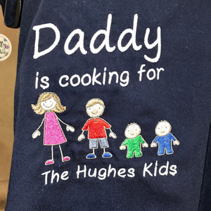 'Cooking for...' Apron