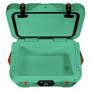 Sea Foam Green 25 Quart Cooler with Pressure Release