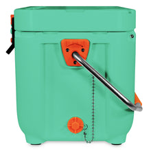 Load image into Gallery viewer, Sea Foam Green 25 Quart Cooler with Pressure Release