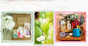 Natural Mama Boxes all natural organic body care products and comfort products for pregnant women and infants