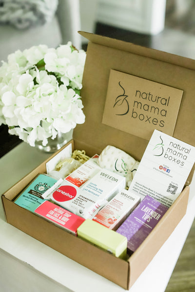 Natural Mama Box by Natural Mama Boxes featured in House of Leo Blog