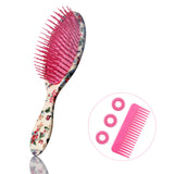 Classic Detangle & Smooth Hair Brush - Chinese Peony