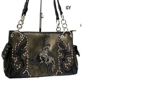 Black Cowgirl Purse