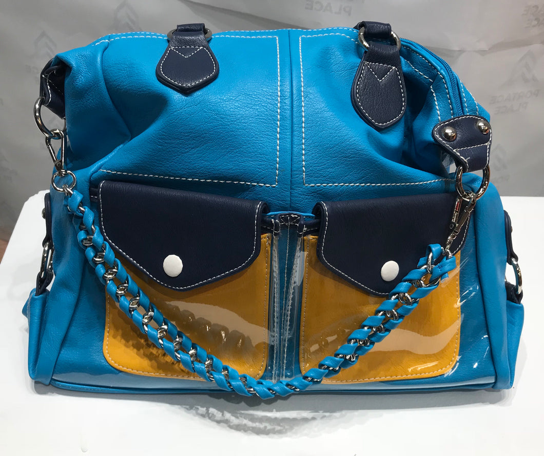 Blue Eye Pocket Handbag