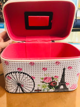 Load image into Gallery viewer, Smaller Paris cosmetic carry case