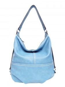 Blue pass handbag
