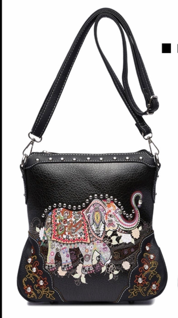 Elephant messenger black