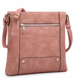Pink square messenger