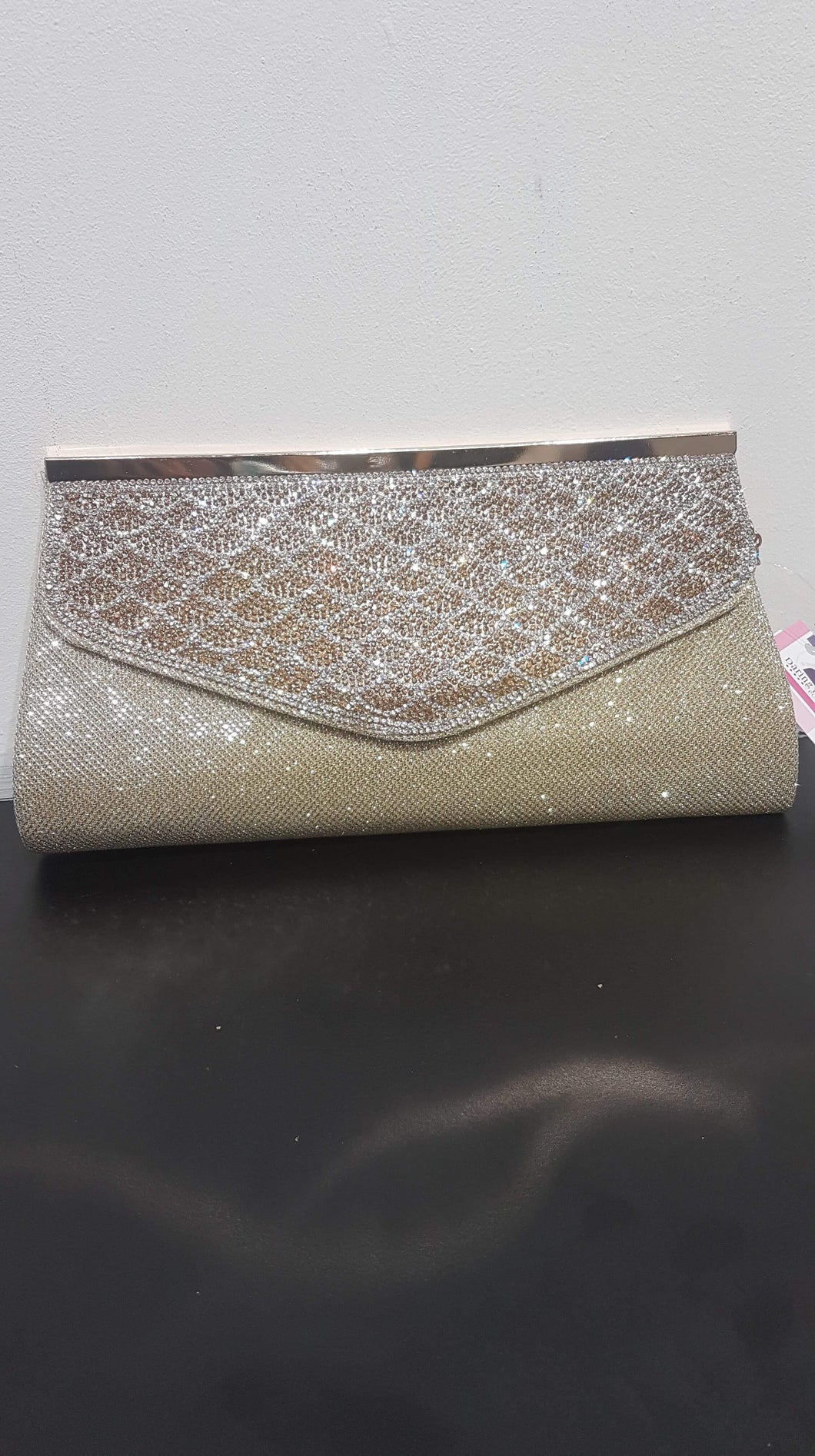 Clutch Bling Gold 2056