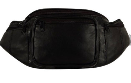 Waist pouch (fanny pack) leather HJ-XL-59C