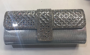 Clutch bling silver 2010