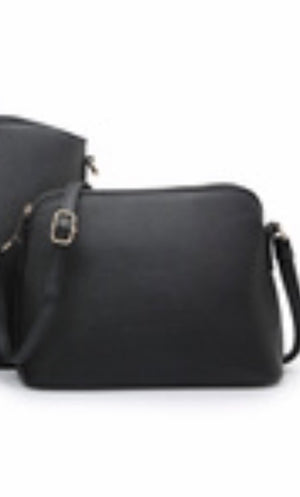 Black structured messenger