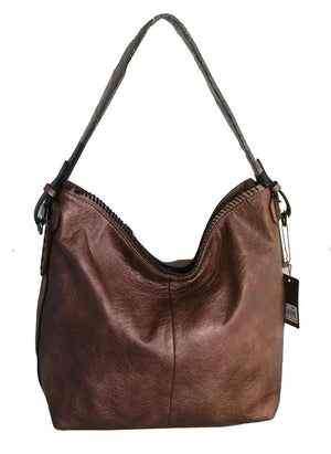 Bronze ALP purse with long strap