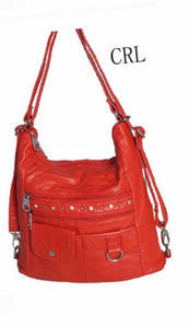 Coral bling 3 in 1 with one front snap pouch