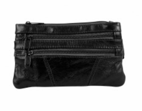 Leather waist pouch (fanny pack) HJ-315