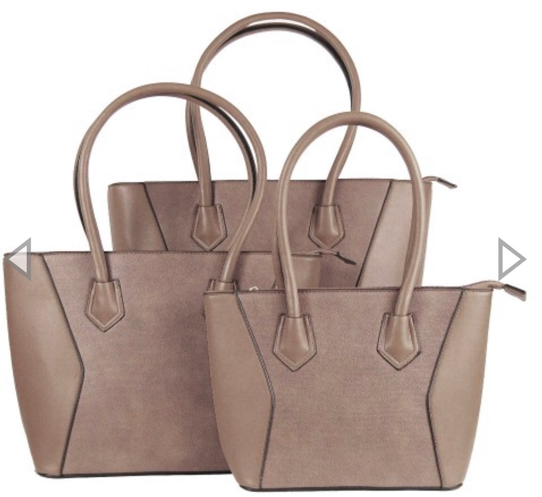 Medium khaki tote