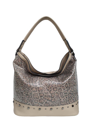 Oak leopard pass purse