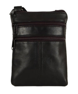 Small leather messenger HJ-1262