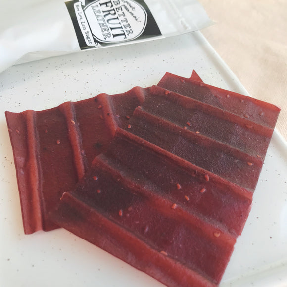Z Fruit Leather - Raspberry