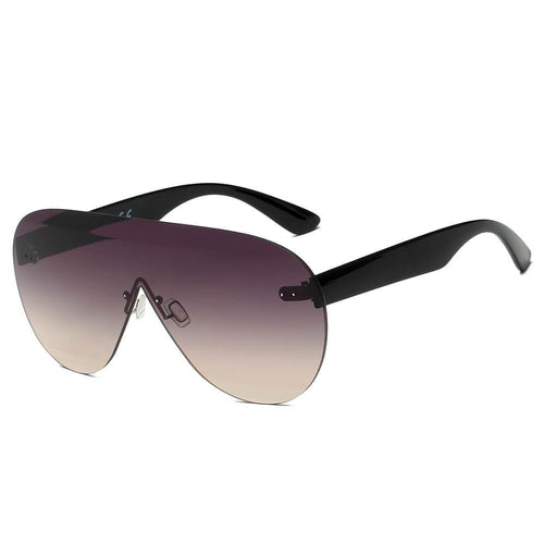 Women's Oversized Aviator 100% UV Sunglasses 4 color choices - Junkdrawercoolfinds.com