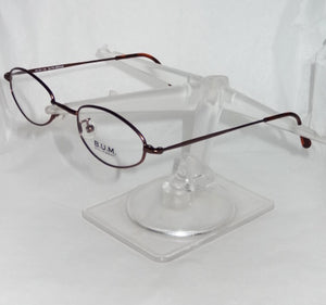 Vintage B.U.M. Equipment Eyeglass Frames, Radical, Made in Italy, RARE - Junkdrawercoolfinds.com