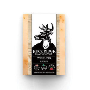 Buck Ridge Wide Open Range Men's Handmade Soap - Junkdrawercoolfinds.com