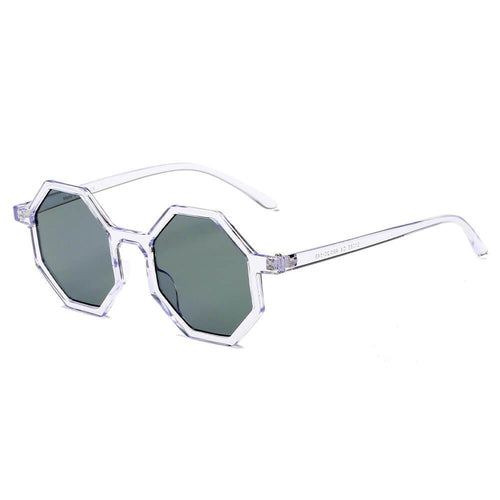 Women's Fashion Geometric Round 100% UV Sunglasses 4 colors - Junkdrawercoolfinds.com