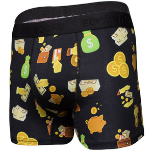 New Premium Men's Comfortable Money Print Boxer Brief Multi sizes