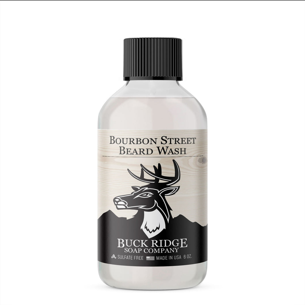 Buck Ridge Men's Bourbon Street Beard Wash