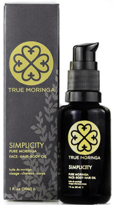 True Moringa SIMPLICITY FACIAL OIL (1OZ/30ML) - Junkdrawercoolfinds.com