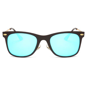 Men's Classic Horn Rimmed Rectangle Fashion Sunglasses, 4 color choices