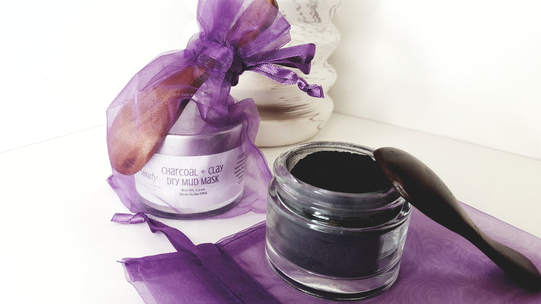 Raw Beauty Minerals, Activated Charcoal & Clay Dry Mud Mask