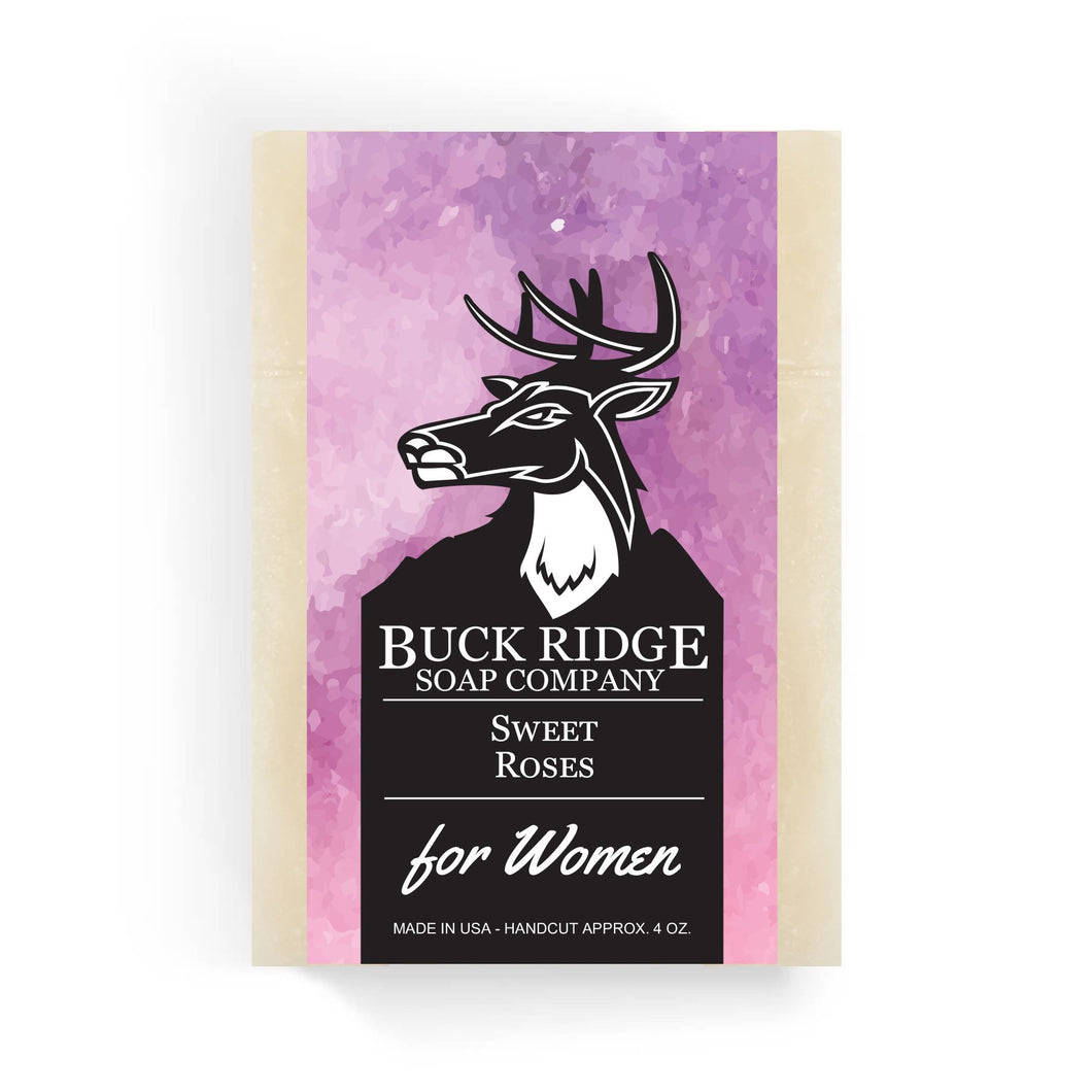 Women's Buck Ridge Sweet Roses Handmade Soap - Junkdrawercoolfinds.com