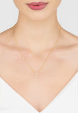 Zodiac Star Sign Pendant Necklace 22ct Gold, Sagittarius