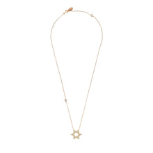New Star of David Necklace Choice of 22ct Gold, Rhodium or 22ct Rose Gold - Junkdrawercoolfinds.com