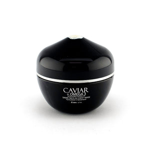 Caviar + Omega 3, DMAE Neck & Chest Mask, FREE SHIP - Junkdrawercoolfinds.com