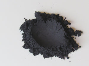 Raw Beauty Minerals, Midnight Black Eyeshadow Pigment | Eye Liner, 3 size choices - Junkdrawercoolfinds.com