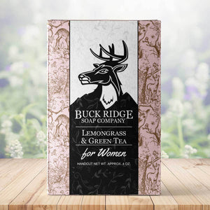Buck Ridge Soap Co. Lemongrass and Green Tea Handmade Soap FREE SHIP - Junkdrawercoolfinds.com