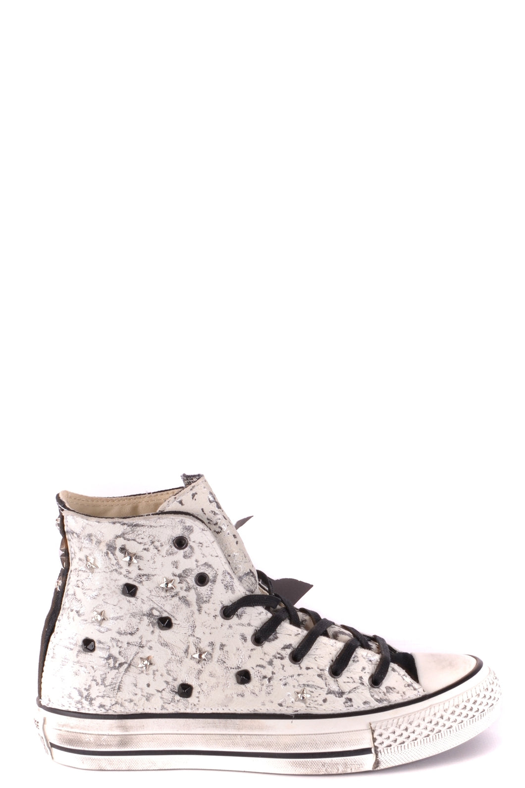 New Converse Women's White with Black High Tops, US size 5.5 - Junkdrawercoolfinds.com