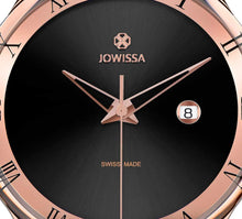 New Jowissa Romo Swiss Men's Watch Rose/Black - Junkdrawercoolfinds.com