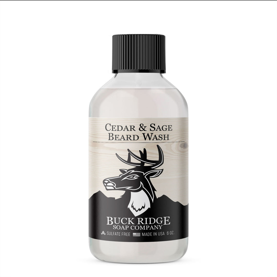 Buck Ridge Men's Cedar and Sage Beard Wash