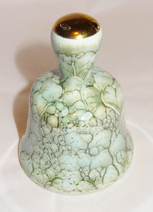 "Vintage Hand Painted Ceramic Pottery Bell, Made in Holland, 3"" Tall - Junkdrawercoolfinds.com"