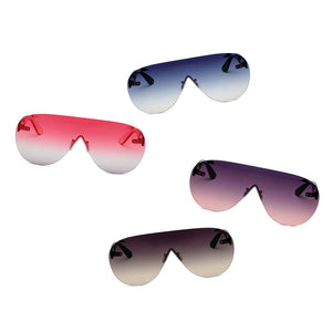 Women's Oversized Aviator 100% UV Sunglasses 4 color choices