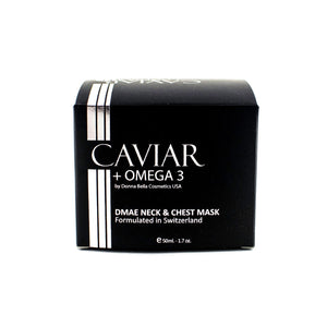 Caviar + Omega 3, DMAE Neck & Chest Mask - Junkdrawercoolfinds.com