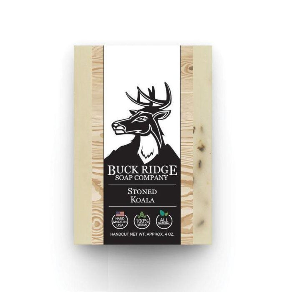 Buck Ridge Stoned Koala Men's Handmade Soap - Junkdrawercoolfinds.com