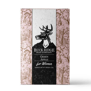 Women's Buck Ridge Green Apple Handmade Soap - Junkdrawercoolfinds.com