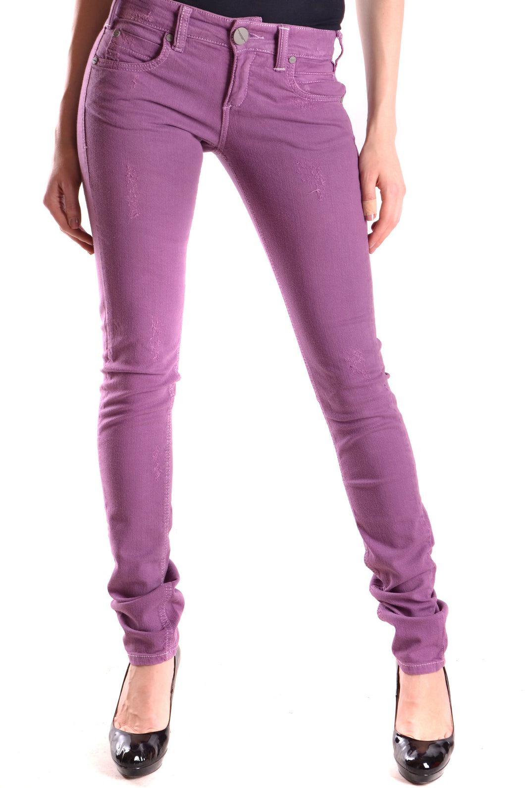 New Pinko Violet Straight Leg Jeans, Size 25