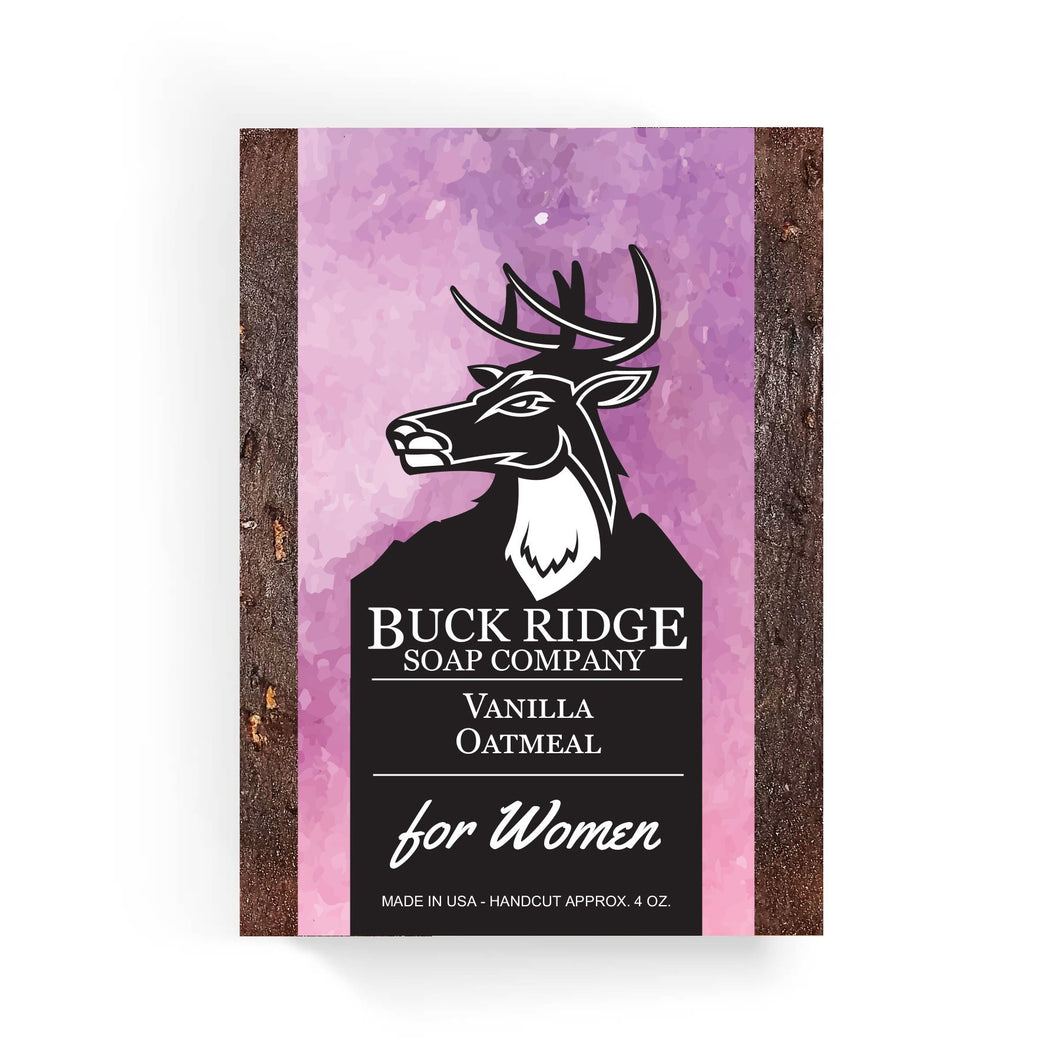 Women's Buck Ridge Vanilla Oatmeal Handmade Soap - Junkdrawercoolfinds.com