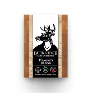 New Buck Ridge Men's Dragon's Blood Handmade Soap - Junkdrawercoolfinds.com